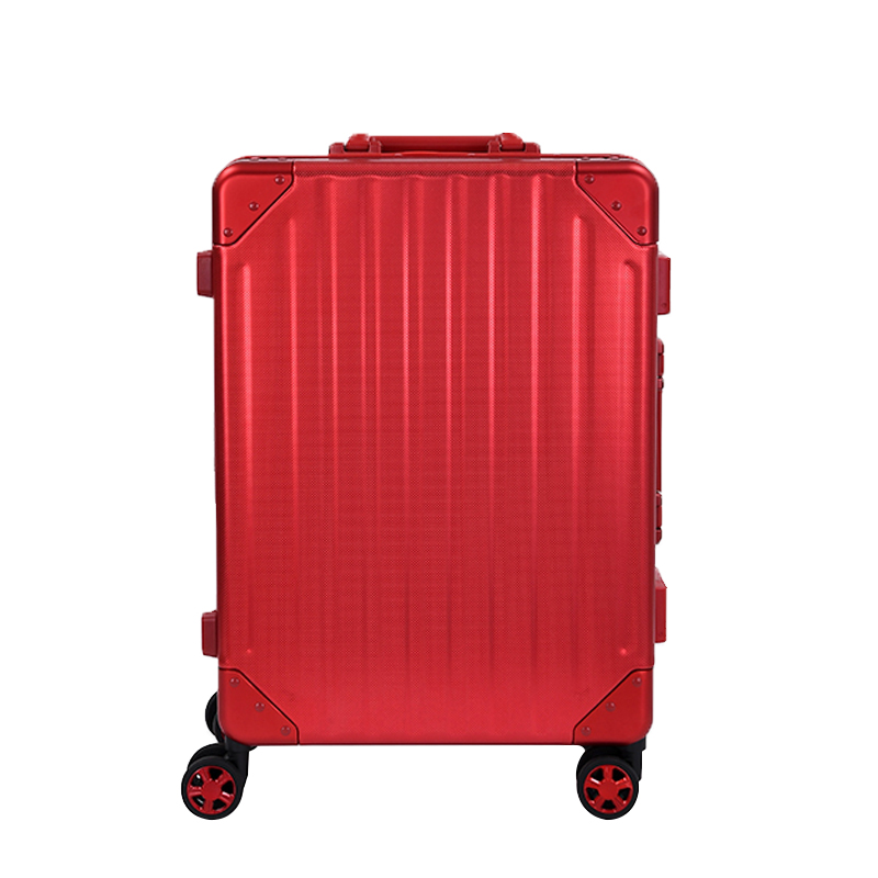 8811B Aluminum trolley luggage Red Dot